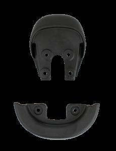 Qu-ax Bumpers voor zadel zwart met handvat