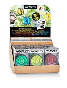 Henrys Lizard Yoyo per 12 verpakt inclusief Display