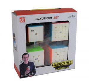 QiYi Cadeauverpakking - 2×2, 3×3, 4×4 en 5×5