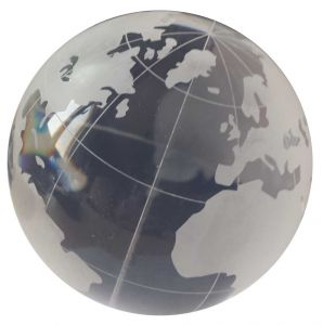 Acrylic Wereldbol Cristal 100 mm Globe