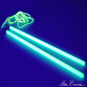 Mr. Babache diabolostokken Glow in the dark