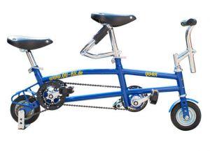 Qu-ax Mini Bike Tandem blauw