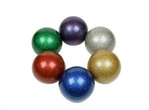 Glitter Stage bal 80 mm