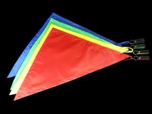 Triangel Poi | Vlagpoi